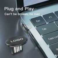 1 Uds conexión USB Universal Mini U disco 8-16-32-64GB memoria Flash Drive para Volvo Polestar AWD S60 S80 S90 T6 XC40 XC60 XC90