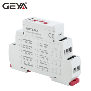 Image 4 - GEYA GRT8 M Multi Function Din Rail Automatic Timer Relay AC DC 12V 24V 220V SPDT DPDT Multifunction Time Relay