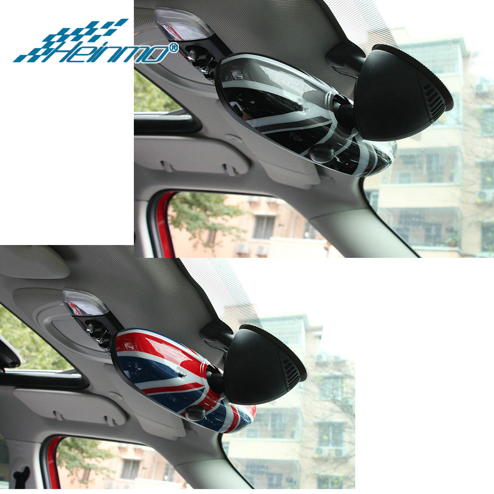 For MINI Cooper F56 F55 Hardtop Hatchback Car Styling Interior Rearview Rear View Mirror Sticker For MINI F56 F55 Accessories