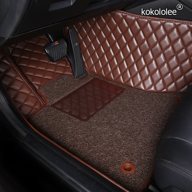 kokololee Custom car floor mats For <font><b>suzuki</b></font> grand vitara jimny sx4 swift car accessories waterproof carpet rugs foot mats image