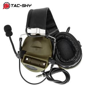 Image 3 - TAC SKY COMTAC II силиконовые наушники с шумоподавлением слуха