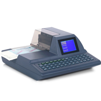 Intelligente Automatische Volle tastatur Überprüfen Druck Drucker Scheck Schriftsteller Überprüfen Schreiben Maschine-in Netzwerk-Druckserver aus Computer und Büro bei