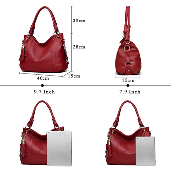 Lanzhixin Leather Shoulder Bag  2