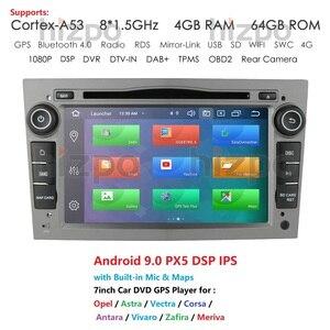 4G RAM Android 10 Car DVD Radio for Opel Corsa C D Astra H Vectra Antara Zafira Vivaro Meriva Veda GPS PX5 2 Din Stereo Player