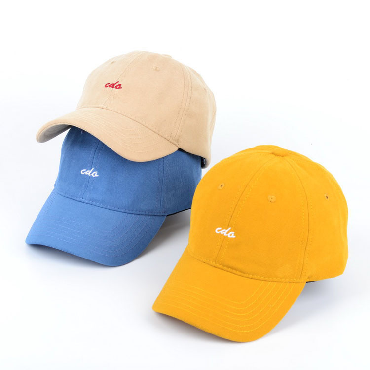 Autumn and new baseball hat Korean Hat Women's winter fashion version versatile letter embroidered duck tongue
