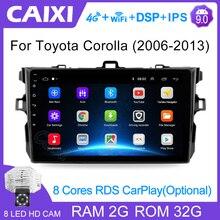 9 Inch 2din Android 9,0 Auto Radio Multimedia Player Für Toyota Corolla E140/150 2008 2009 2010 2011 2012 2013 Stereo navigation
