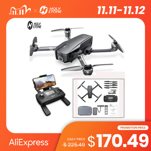 Holy Stone HS720 Upgraded GPS Drone With 5G 4K FHD FOV 120 Wi-Fi Camera RC Quadcopter 26 Minutes Flight Time With Carrying Bag