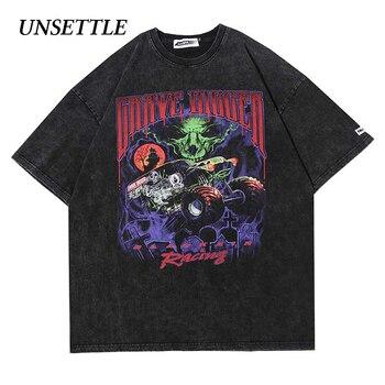 2020 Harajuku t shirts Oversized Summer Men/Women Hip Hop Fashion Gothic Print Tshirt Men Streetwear T-shirts Short Sleeve