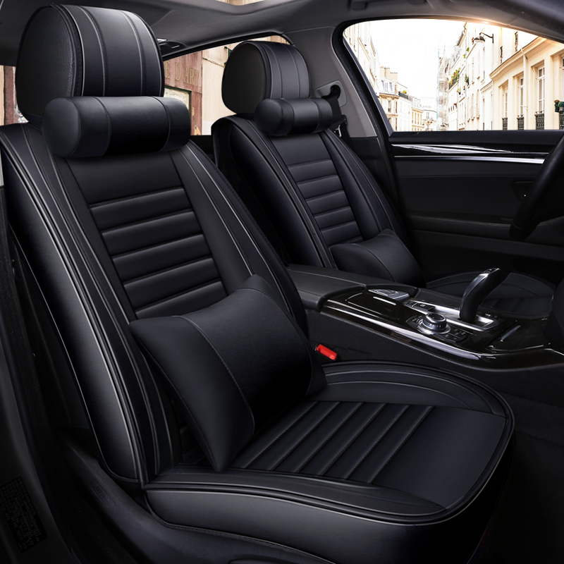 Full Coverage Eco leather auto seats covers PU Leather Car Seat Covers for lanciadelta lexusgs gs300 lexusgx 470|Automobiles Seat Covers| |  - title=