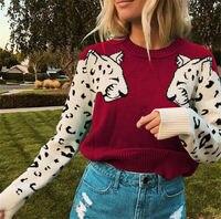 6 цветов, осенне-зимний свитер, Женский вязаный свитер с длинным рукавом, топы для девушек, повседневный мягкий тонкий женский эластичный дж...