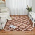 Geometry Carpets Plush Rugs for Bedroom Kids Fluffy Floor Carpets Window Bedside Soft Rugs and Carpets for Home Living Room