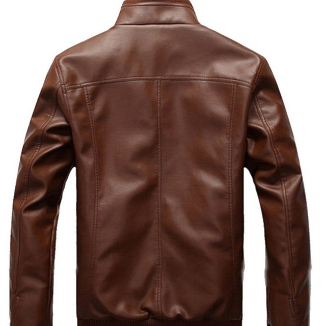 Brown Leather Jacket 3