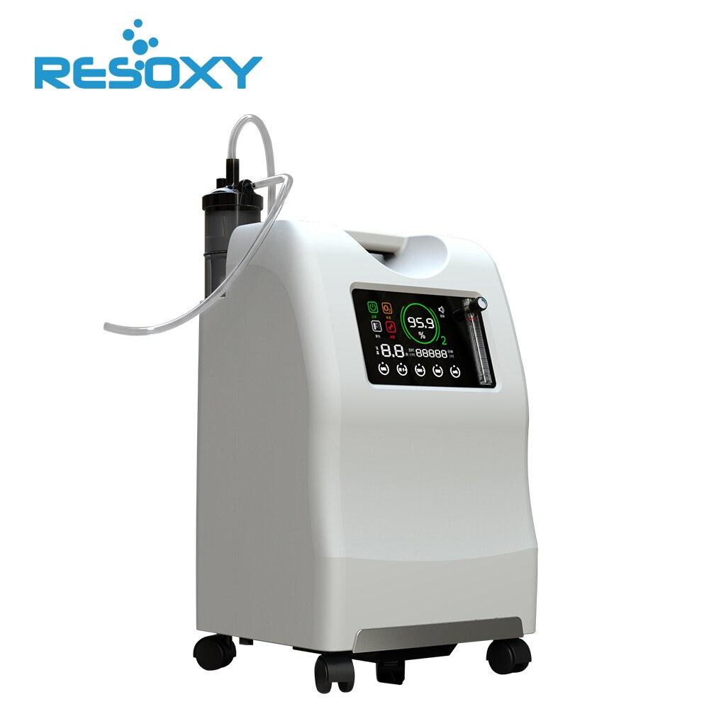 Ce Appove 9l 10l Medizinische Grade Sauerstoff Konzentrator Haus Handy Sauerstoff Maschine Für Behandeln lungen infektion