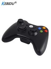 Kebidu Black 2.4GHz Wireless Gamepad Joypad Controller Game Joystick Pad For Xbox 360 Game Premium Quality Hot