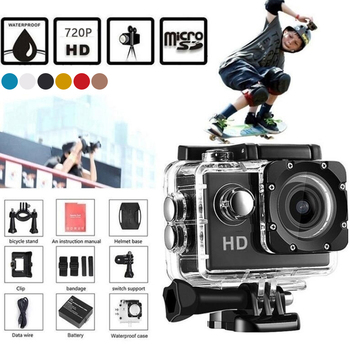 цена на Willkey SJ4000 AIR Action Camera Full HD 1080P 30FPS 2.0 Screen Mini Helmet Waterproof Sports DV Camera