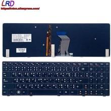 Новая Оригинальная тайская клавиатура с подсветкой TH для ноутбука Lenovo Ideapad Y580 Y580A Y580N 25203127 25203067 25203439