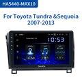 Dasaita Android 10 0 автомобильное радио для Toyota Tundra 2007-2013 Sequoia 2008-2018 автомобильный мультимедийный плеер 10 2