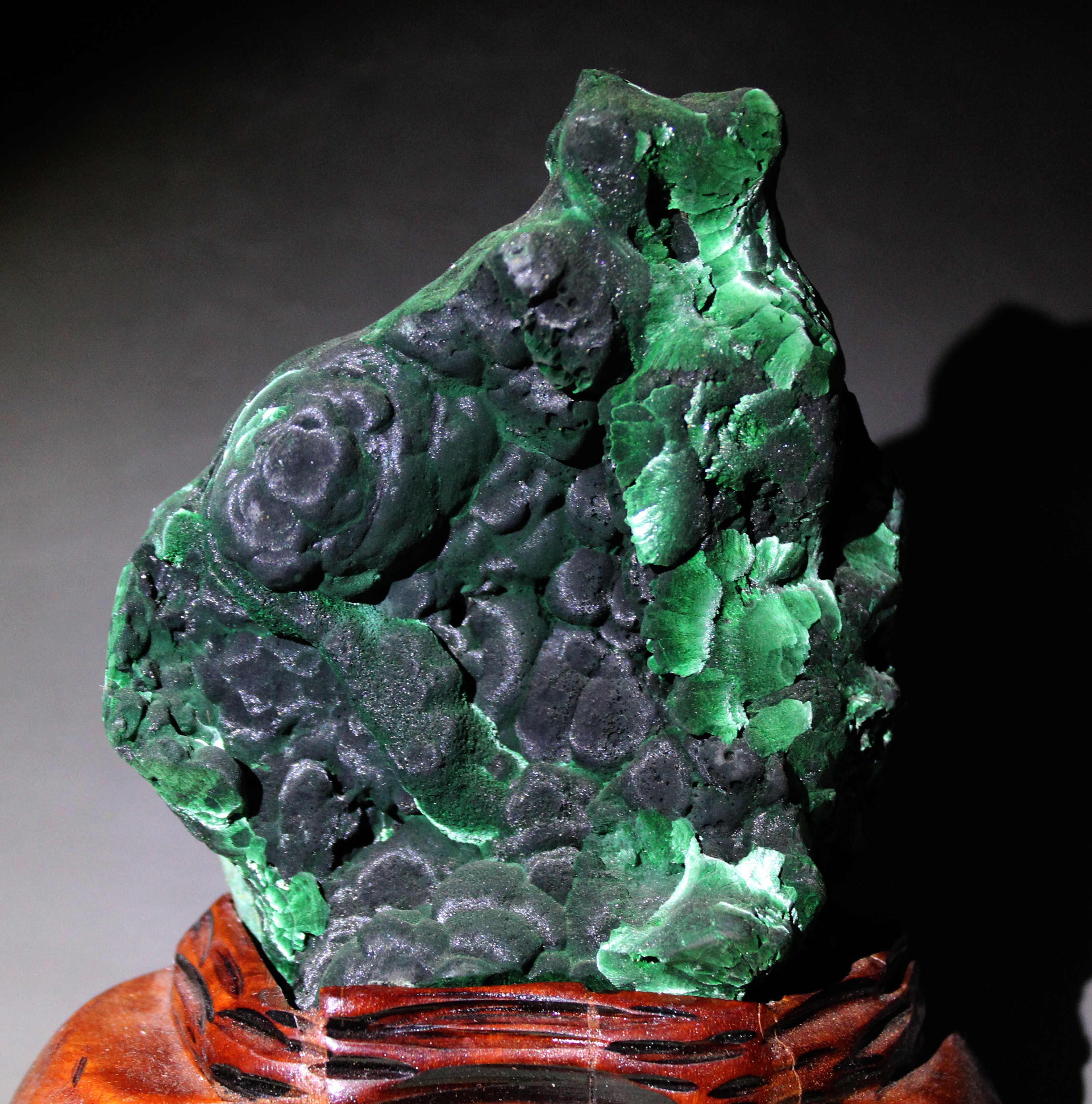 Tự Nhiên 1000G Xanh Malachite Khoáng Mẫu Vật Đá Và Tinh Thể Chữa Bệnh Tinh Thể Thạch Anh Đá Quý Gửi Đế Miễn Phí Vận Chuyển
