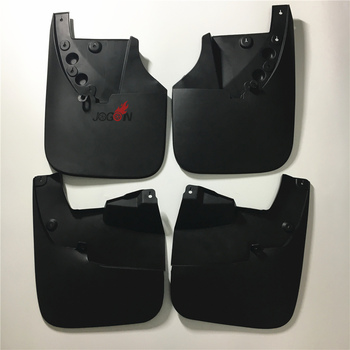 4pcs Car Mudguards Front and Rear Splash Mud Flaps Fender For Toyota Tundra 2007 2008 2009 2010 2011 2012 2013