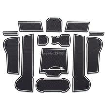Для Volkswagen/Vw T-ROC TROC A11 внутренний слот для ворот, нескользящий коврик для чашки, противоскользящие дверные пазы, автомобильные аксессуары для стайлинга