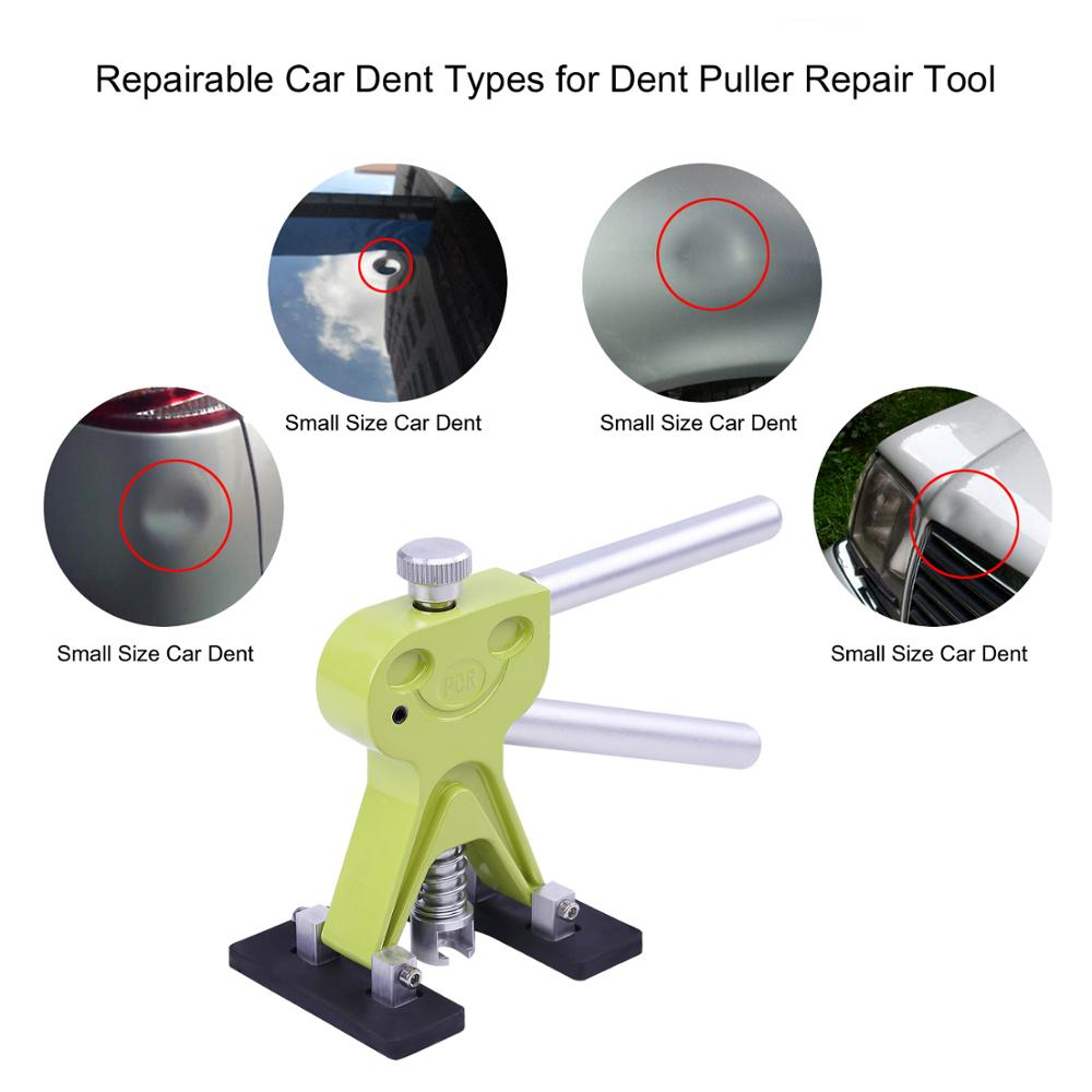 Купить с кэшбэком PDR Tools New Lifter Paintless Dent Removal Auto Repair Tool Kit Removing Dents Puller Suctions Cups For Dents New Hot