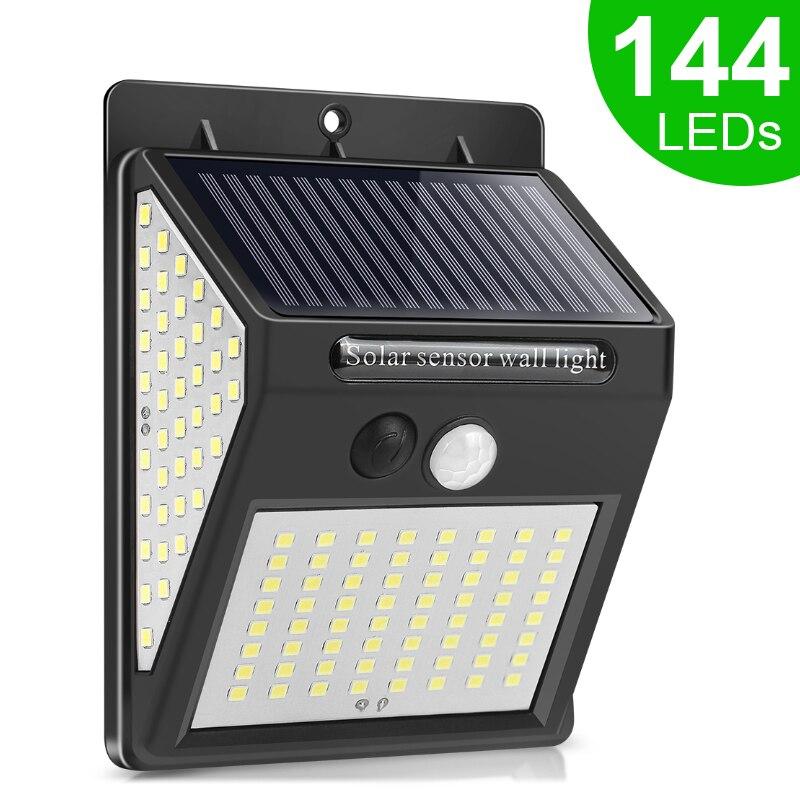 Outdoor LED Solar Lamp with PIR sensor