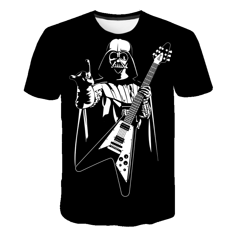 New Camisetas <font><b>Hombre</b></font> Novelty Star Wars Men T-Shirts Tshirts 3D Print Tops O-Neck Short Sleeve Male Funny Rock Tees size S-<font><b>6XL</b></font> image