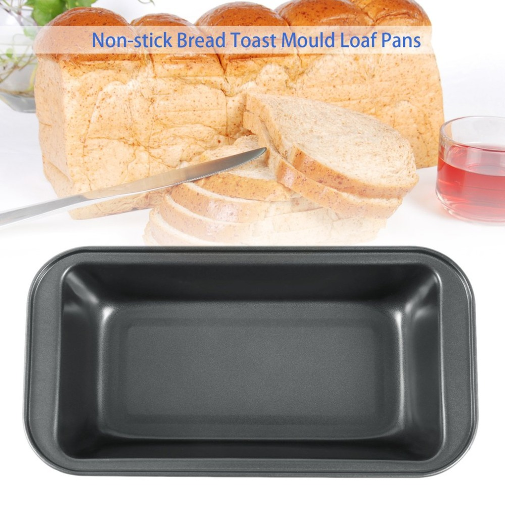 Silver Quick Release Coating Loaf Tins Box Kitchen Tool Non-Stick Loaf Pan Aluminum Alloy Bread Toast Mould with Cover Lid