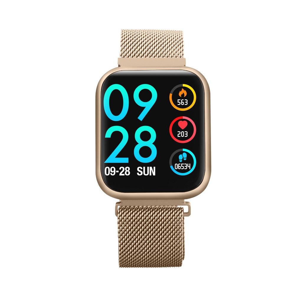 P80 montre intelligente pleine pression artérielle moniteur de fréquence cardiaque suivi du sommeil SmartWatch santé hommes femmes pour IOS Android PK P70 Q8