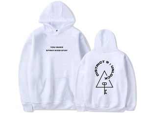 Image 4 - KPOP Stray Kids StrayKids Sweatshirt Hoodies District 9 Unlock Men And Women Hoodies Oversized Hoodie Plus Size 4XL Merchandise