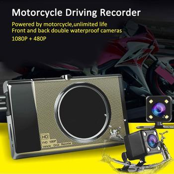 new q3 portable mini full hd 1080p car camcorder driving recorder with wide angle lens 6x wide digital zoom f2 2 recording Motorcycle Recorder Dash Cam 125 Wide Angle Lens Full HD 1280P 3inch Dual Hidden Lens DVR Driving Recorder