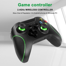 2.4 G Controller Gamepad Android Wireless Joystick Joypad With OTG Converter Smart Phone Stand For PS3 For Tablet PC TV Box