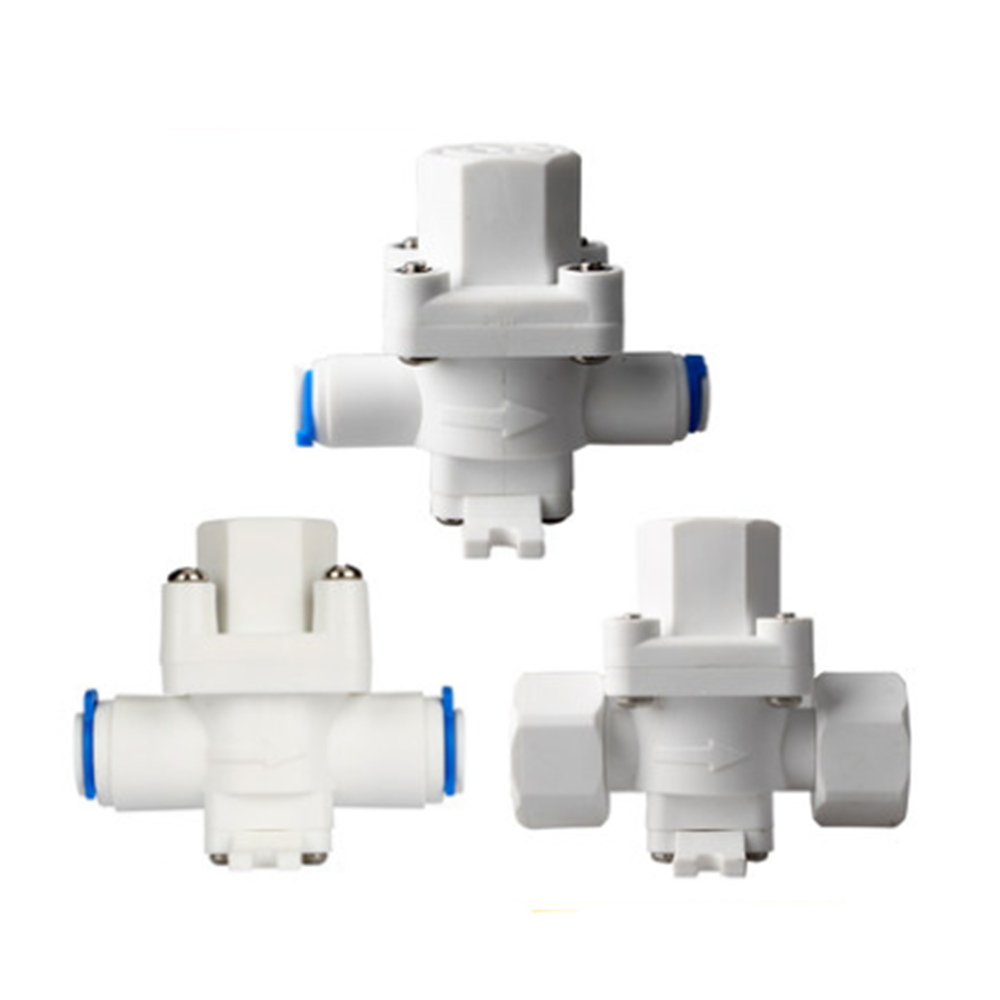 RO Water Pressure Relief Valve Water Pressure Reducing Regulator 1/4