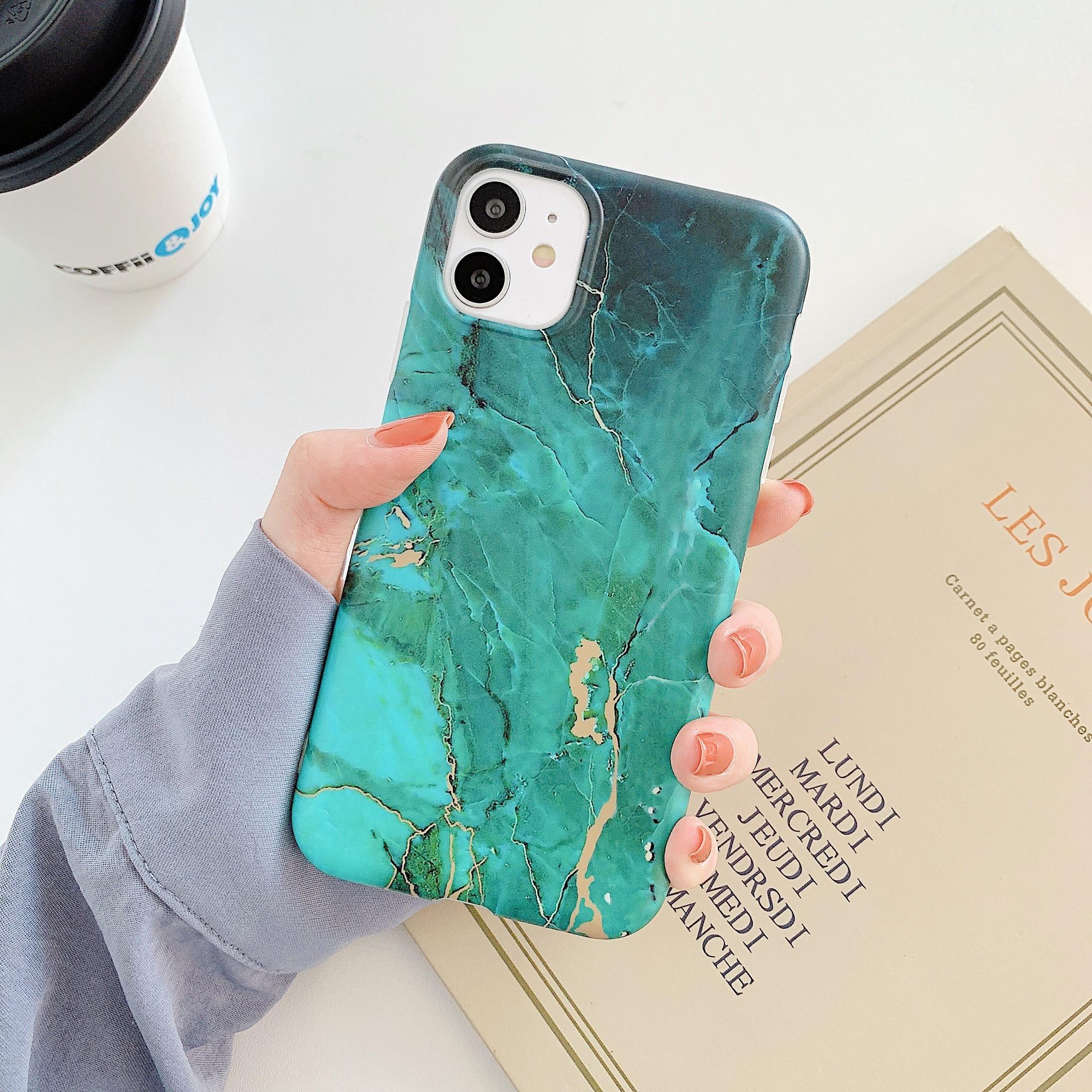 H97f768cfd6684a99b4a9bce2e4d9c4e4b Capinha celular case Mármore rachadura matte casos de telefone para iphone 12 mini 11 pro max se 2020 xs max xr x 7 8 plus capa de silicone macio tpu imd volta