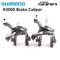 Pinza de freno de pivote doble SHIMANO SORA BR R3000 3400, pinza de freno para bicicleta de carretera R3000, pinza de freno delantera y trasera