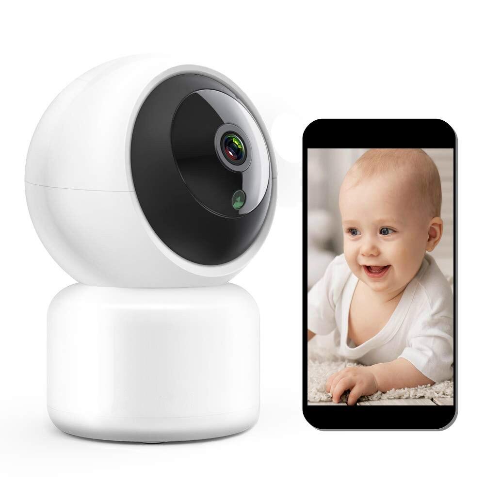 Caméra IP WiFi sécurité sans fil Camera1080P dôme intérieur Pet bébé moniteur panoramique inclinaison Zoom 2MP HD Vision nocturne