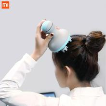 Xiaomi Mini Head Massager Electric Head Massager Scalp Massage Spa Therapy Machine for Muscle Relax usb electric head scalp massager brain relaxation relax spa massager stress relieve prevent hair loss health care massage tools