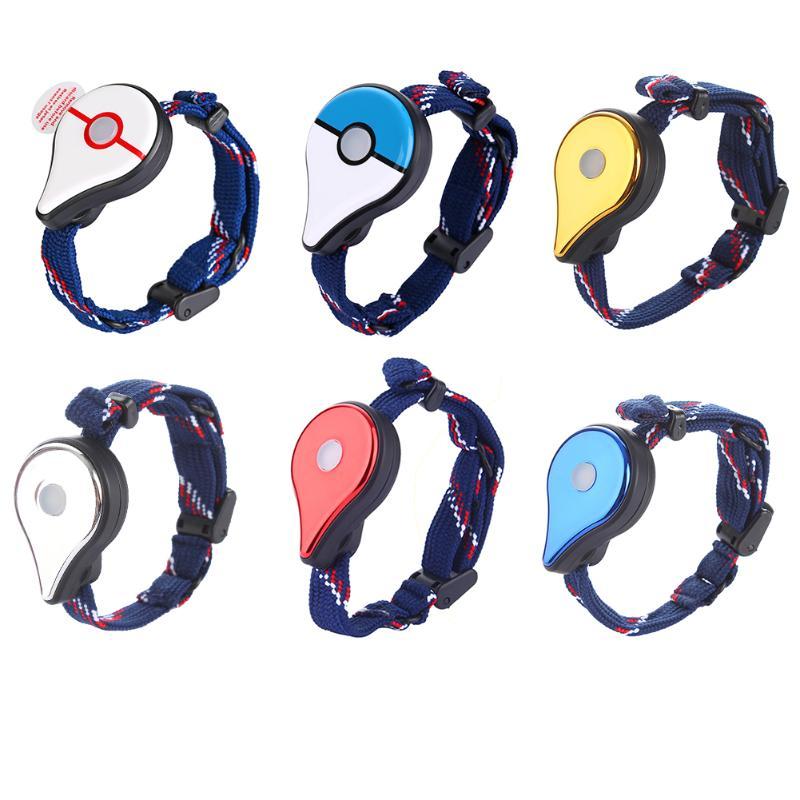 Auto Catch Bracelet For Pokemon Go Plus Bluetooth Wristband Interactive Figure Toys For Nintendo Switch Pokemon Go Plus Watch