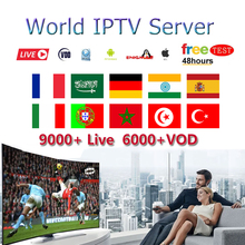 Stable IPTV Brazil M3U Holland Subscription Dutch Spain 1 Year German Poland UK portugal for Smart TV Android9.0