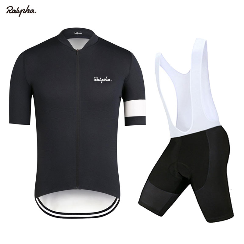 2020 Raphaful Bike Wear Short Sleeve Jersey Suit Pro Road Bike Shorts Clothes Summer Bike Triathlon Tights Cycling Shirt