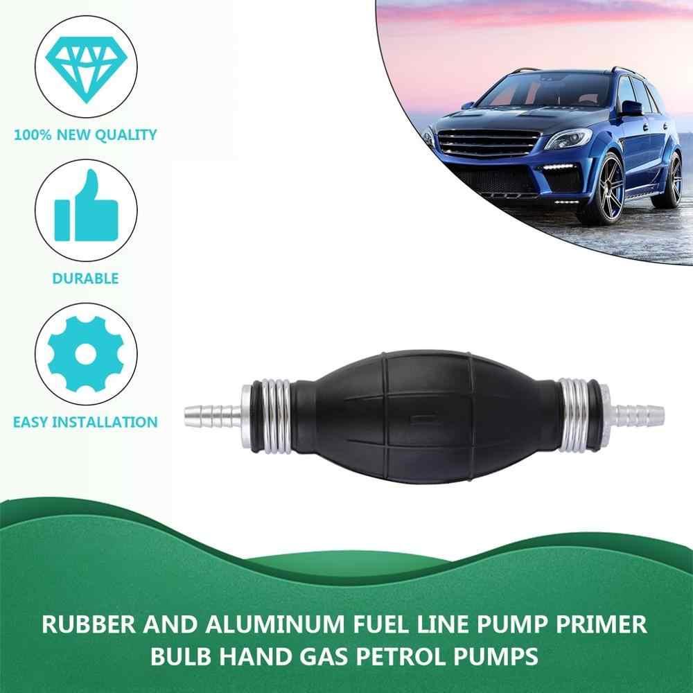 Rubber And Aluminum Fuel Line Pump Primer Bulb Hand Primer Gas Petrol Pumps Marine Boat Accessories