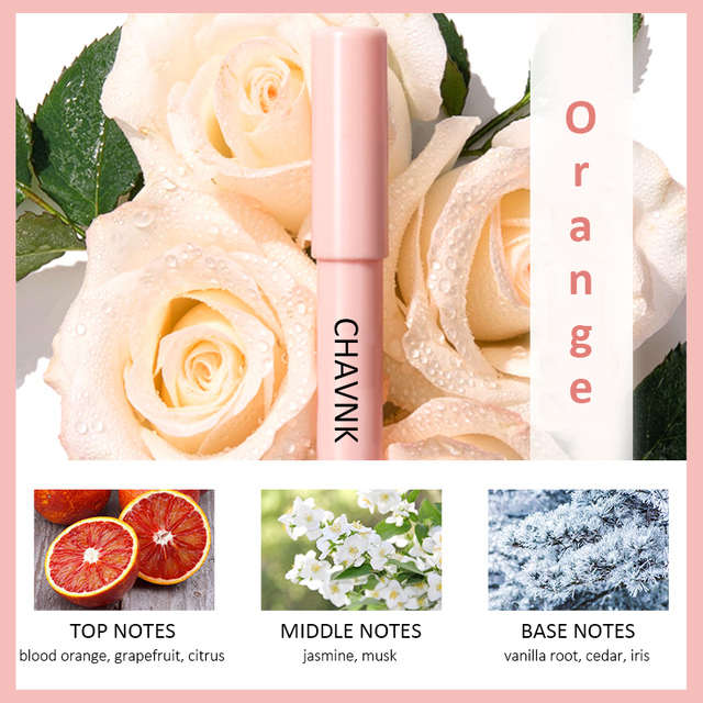 JIAUTING Perfume For Women Long Lasting Portable Solid Perfume Fragrances Solid Stick Perfume Parfum Cologne Fragrance Flower 2