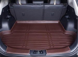 Car styling 3D three-dimensional PU tail box protective carpet pad trunk luggage pad for Chery Tiggo 3X 2017-2019