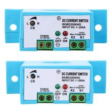 Normally Open/Normally Closed Current Sensing Switch Flameproof Adjustable AC 1~200A DC 10~30V Sensor Swtich