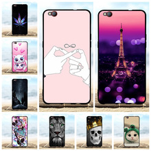 For ZTE nubia M2 lite Phone Case Soft TPU Silicone Nubia Lite Cover Beach Patterned Bumper Capa