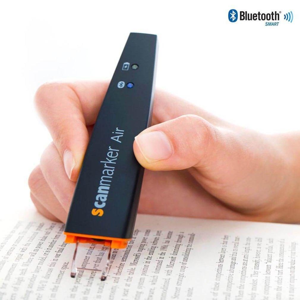 Scanmarker Air Pen Scanner Wireless OCR Digital Highlighter and Reader Portable Bluetooth Scanner Tr