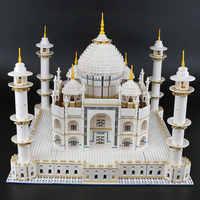 DHL 17008 The Taj Mahal Set Model Building Blocks LepinBricks Compatible With 10256 10189 Educational Toys Gifts For Kids