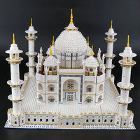DHL 17008 The Taj Mahal Set Model Building Blocks Bricks Compatible With 10256 10189 Educational Toys Birthday Gifts For Kids