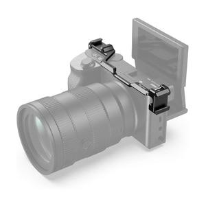 Image 3 - รองเท้าเย็น Adapter Relocation แผ่นอลูมิเนียมกล้อง Vlogging Mount สำหรับ Sony A6300/A6400