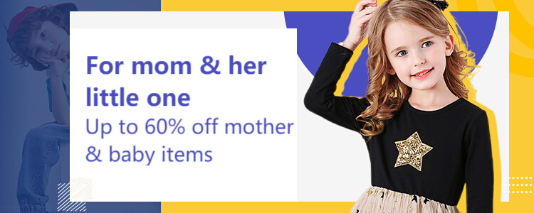 aliexpress.com - Get Upto 60% OFF on Mother and Baby Items